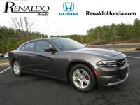 2015 Dodge Charger SE Gray Cloth.  CARFAX One-Owner.