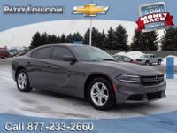 2015 CHARGER SE - Clean CARFAX One Owner **Bluetooth
