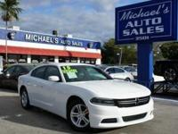 Options:  2015 Dodge Charger Se|White|Don't Let The
