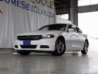 CARFAX One-Owner. Clean CARFAX. White 2015 Dodge