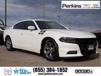New Price! Clean CARFAX. Certified. White 2015 Dodge
