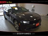New Price! Certified. Pitch Black 2015 Dodge Charger