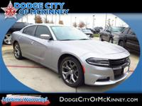 Climb inside the 2015 Dodge Charger! A safe vehicle to