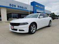 Charger SXT, 8-Speed Automatic, RWD, 300 HP Power