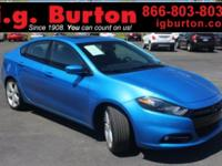 2015 Dodge Dart Limited/GT CARFAX One-Owner. Clean