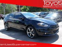 Options:  2015 Dodge Dart Gt|Pitch Black Clearcoat/|V4