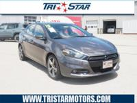 This 2015 Dodge Dart GT includes a backup camera,