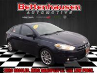 Options:  2015 Dodge Dart Limited|Blue|Heated Leather