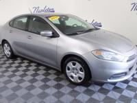 2015 Dodge Dart Silver Clean CARFAX. CARFAX One-Owner.