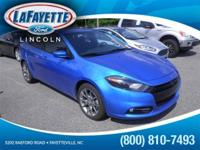 New Arrival LOW MILES This 2015 Dodge Dart SXT will
