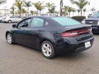 Options:  2015 Dodge Dart Sxt|Black|Carfax One-Owner.