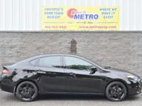 CARFAX One-Owner. Clean CARFAX. Black 2015 Dodge Dart