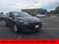 2015 Dodge Dart SXT in Black vehicle highlights