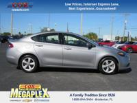 This 2015 Dodge Dart SXT in Gray is well equipped with: