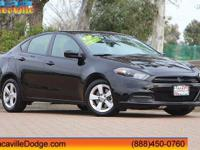 2015 Dodge Dart  CARFAX One-Owner. 35/22 Highway/City