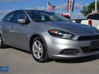 Come see this 2015 Dodge Dart SXT. Its transmission and