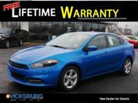 Options:  2015 Dodge Dart Sxt|Blue|***Free Lifetime