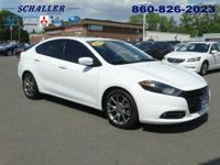 ONE OWNER and CLEAN CARFAX. Dart SXT, 4D Sedan, and