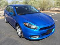 Dart SXT, 4D Sedan, 6-Speed Automatic in Laser Blue