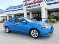This 2015 Dodge Dart  has a 2.4 liter 4 Cylinder Engine