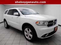 New Price! 2015 Dodge Durango Limited Certified.