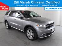 2015 Dodge Durango Limited AWD Certified. This vehicle