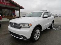 Options:  2015 Dodge Durango Navigation! Rear Dvd!