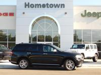 Options:  2015 Dodge Durango Awd 4Dr Citadel|Navigation