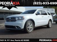 This is a loaded 2015 Dodge Durango Citadel model with