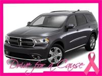 This 2015 Dodge Durango AWD 4DR LIMITED boasts features