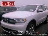 Options:  2015 Dodge Durango Limited Awd|Bright White