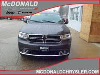 Options:  2015 Dodge Durango Limited  All-Wheel Drive