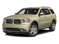 2015 Bright White Clearcoat Dodge Durango Limited