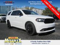 This 2015 Dodge Durango Limited in Bright White