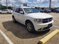 Bright White Clearcoat 2015 Dodge Durango Limited RWD