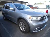 Options:  2015 Dodge Durango Limited With 30|324 Miles.