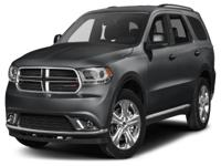 Options:  2015 Dodge Durango Limited|This 2015 Dodge