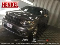 Options:  2015 Dodge Durango R/T Awd|Granite Crystal