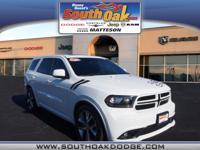 All Wheel Drive!!!AWD!!! Dodge CERTIFIED. Incredible