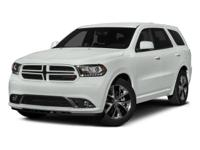 Take command of the road in the 2015 Dodge Durango! It