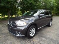 This 2015 Dodge Durango AWD was a non-smokers vehicle