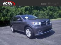 2015 Durango, 17,095 miles, options include:  Rear Heat