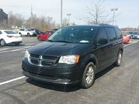Clean CARFAX. Black 2015 Dodge Grand Caravan SXT FWD