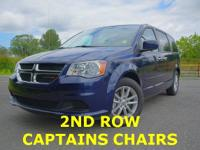 2ND ROW CAPTAINS CHAIRS,POWER SLIDING SIDE DOORS,POWER