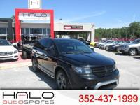 2015 DODGE JOURNEY CROSSROADS- FULLY LOADED WITH