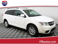 White 2015 Dodge Journey SXT FWD 6-Speed Automatic 3.6L