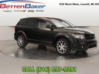 Options:  2015 Dodge Journey Awd 4Dr R/T|4-Wheel