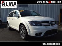 Options:  2015 Dodge Journey R/T|White|1 Owner - Clean