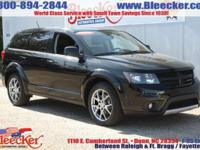 This Dodge Journey R/T is nice! It comes with leather