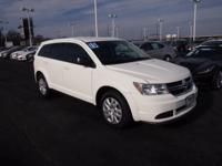 2015 Dodge Journey AVP White Certified by Carfax - No